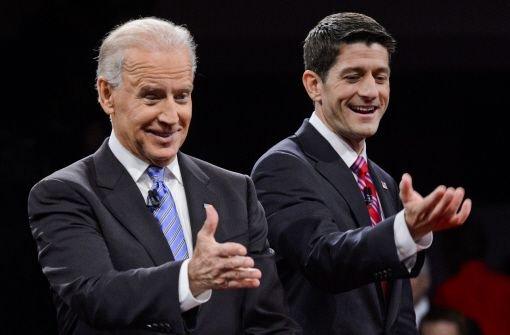 Angriffslustiger Biden attackiert Ryan