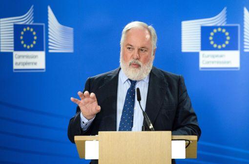 EU-Klimakommissar Miguel Arias Cañete hält höhere Klimaziele für machbar. Foto: EPA