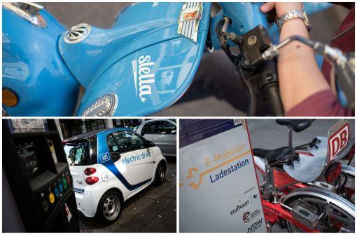 Alle Infos zu mietbaren Elektro-Fahrzeugen in Stuttgart