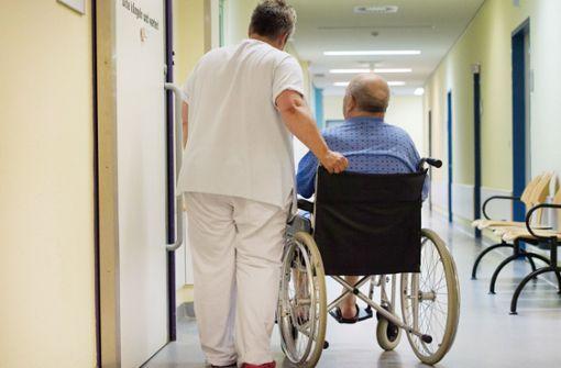 Gespräch über Pflegenotstand