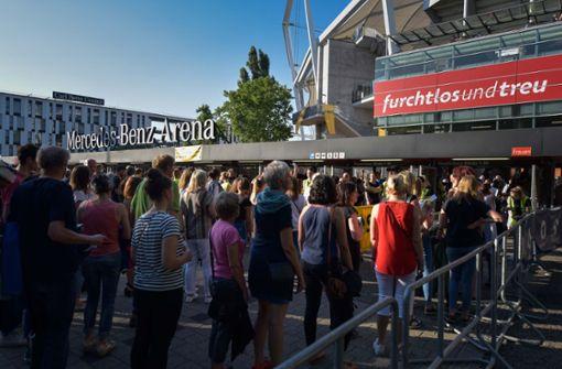 Rund 40000 Menschen sind nach Bad Cannstatt gepilgert, um die Rolling Stones zu sehen. Foto: Lichtgut/Max Kovalenko