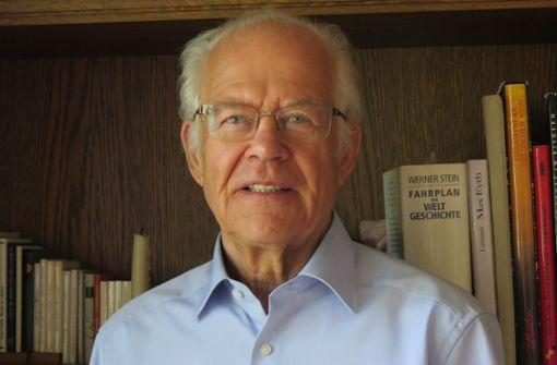 Ein ehemaliger Bürgermeister  wird 80