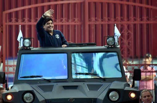 Die Fans des Klubs, dessen neuer Vorstandschef der Superstar von einst nun ist, waren selig.  Foto: AFP